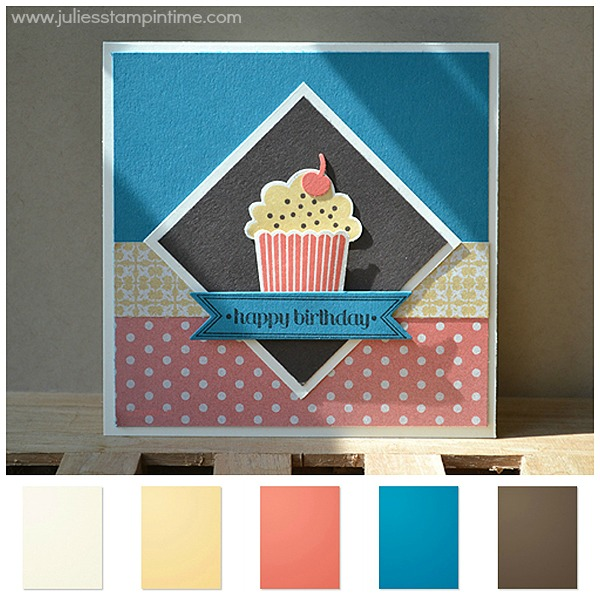 Birthday Muffin Card