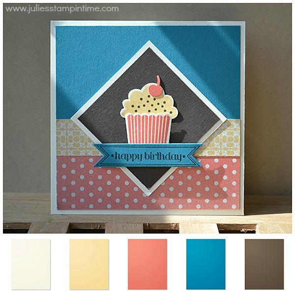 Birthday Muffin Card