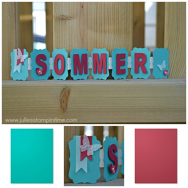Sommerbanner