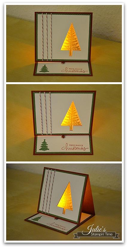 Tannenbaumkarte